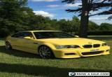BMW E46 M3 SMG Rare Individual Dakar Yellow In Excellent Condition 2004/54 FSH for Sale