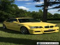 BMW E46 M3 SMG Rare Individual Dakar Yellow In Excellent Condition 2004/54 FSH