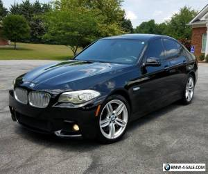2012 BMW 5-Series RARE FULL M SPORT PKG PWR SHADE NAV TWIN TURBO V8! for Sale