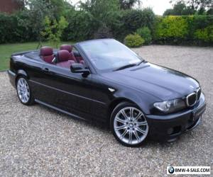 2004/54 BMW 330ci Sport Convertible / Huge Spec for Sale