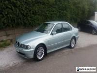 BMW 530d 2002 turbo diesel