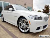 2012 BMW 5-Series 550i M Sport Highly Optioned MSRP 72K  EXCELLENT