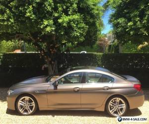 2013 BMW 6-Series Grand Coupe M Sport for Sale
