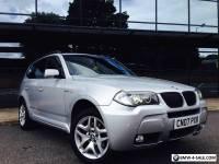2007 BMW X3 3.0 SD M SPORT LCI FACELIFT 4X4 286 BHP DIESEL NOT 535D X5