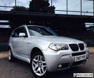 2007 BMW X3 3.0 SD M SPORT LCI FACELIFT 4X4 286 BHP DIESEL NOT 535D X5 for Sale