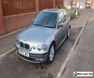 2004 BMW 316 1.8 3 Door Compact in Silver  for Sale