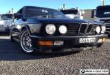 BMW M535i E28 Supercharged - One of a Kind!  for Sale