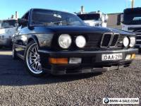 BMW M535i E28 Supercharged - One of a Kind!