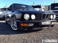 BMW M535i E28 Supercharged - One of a Kind!
