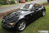 BMW Z3 CONVERTIBLE AUTO 1997 ONLY 130,000 KLMS for Sale