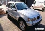 BMW X5 2001 3.0 DIESEL AUTOMATIC SILVER BRISTOL 12 month MOT for Sale