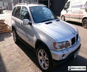 BMW X5 2001 3.0 DIESEL AUTOMATIC SILVER BRISTOL 12 month MOT for Sale