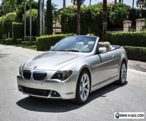 2005 BMW 6-Series 645Ci for Sale