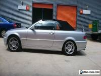 bmw 2002 330ci e46 convertible