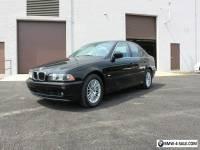 2003 BMW 5-Series 2003 BMW 530i SPORT SEDAN E39