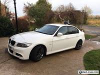 Bmw 320m sport business edition in white sat nav