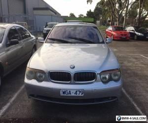 2002 BMW 735i for Sale