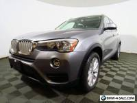 2016 BMW X3 Panoramic Back Up Cam Navigation Leather Keyless