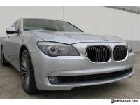 2011 BMW 7-Series 740i TWIN TURBO NAVIGATION PDC HEATED STS iPOD USB