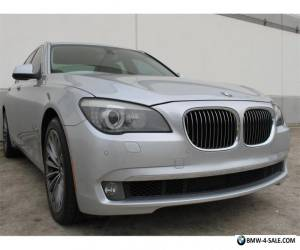 2011 BMW 7-Series 740i TWIN TURBO NAVIGATION PDC HEATED STS iPOD USB for Sale