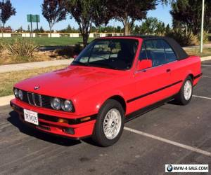 1992 BMW 3-Series 325I Convertible for Sale