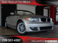 2011 BMW 1-Series 128i Convertible Ft Myers FL