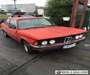 FOR SALE 1980 BMW 320i COUPE 6 CYLINDER AUTO for Sale