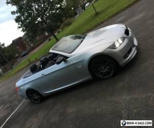 "2007 BMW 335I M SPORT 3.0 TWIN TURBO CABRIOLET SILVER 19"" MV4 FULL MOT  for Sale"