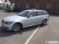 Bmw 3 series estate 320d silver
