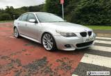 2005 BMW 530D M SPORT AUTO SILVER M5 ALLOYS, LONG MOT, LOW MILES NO FAULTS! for Sale