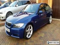 BMW 330i Beautiful Blue L/Miles, HPI, S/Nav, DTV, Keyless, A-Eyes, TopSpec! 2007