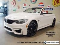 2015 BMW M4 MSRP 86K,HUD,NAV,F&SIDE CAM,HTD LTH,10K,WE FINANCE