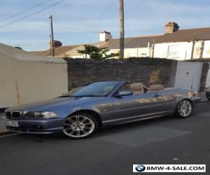 BMW 318CI Convertible 2.0ltr (Rare Auto) for Sale
