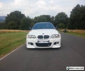 bmw e46 convertible coupe msport m3 rep alpine white modified @@LOOK@@  for Sale