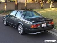 1985 BMW 6-Series