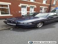 BMW525d se Diesel e39 Blue 4 door alloy Wheels service history