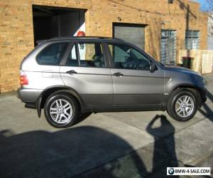 2004 BMW X5 Wagon 3.0 DIESEL SUNROOF REG 3/2017 MECH A1 SUNROOF LEATHER  for Sale