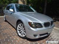 2008 BMW 7-Series PREMIUM-EDITION(LAST OF THIS BODY  STYLE)