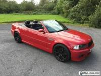 BMW M3 CONVERTIBLE 2004 IMOLA RED MANUAL EXCELLENT CONDITION..