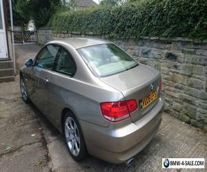 2008 BMW 320D SE*COUPE*BRONZE*TOP SPEC*CREAM LEATHERS*XENONS**Spares or Repairs for Sale