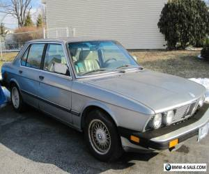 1986 BMW 5-Series for Sale