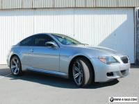 2007 BMW M6 M6 Coupe