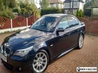 BMW 5 Series Saloon (2006 - 2010) E60 Facelift 3.0 525d M Sport 4dr