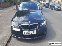 BMW 3 Series 318D Black 2007 57 Manual @ 99000 Miles With full Service History
