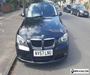 BMW 3 Series 318D Black 2007 57 Manual @ 99000 Miles With full Service History for Sale
