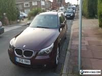 *QUICK SALE*BMW 520D DIESEL ESTATE-NEW MOT-FSH-NEW CLUTCH,FLYWHEEL,TURBO-E60/E61