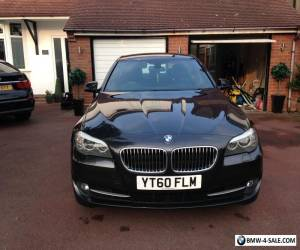 2010 BMW 520D SE AUTO GREY F10 5 Series FSH Heated Leaters NAV 2 Keys for Sale