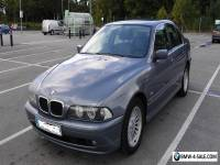BMW 5 SERIES E39 - 520i SE 2.2 AUTO (170 bhp) FACE LIFT 2001 MODEL - LOW MILEAGE