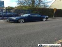 "BMW Blue 3 Series 2002 E46 330 Ci convertible / cabriolet 240BHP 18"" CSL Alloys"