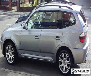 BMW X3  3.0sd M SPORT  5dr  (57 PLATE 2007) AUTOMATIC DIESEL for Sale